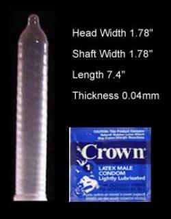 Crown Condoms Crown Skinless Condoms